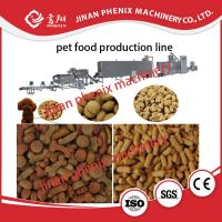 automatic animal pet dog food extrusion processing machine