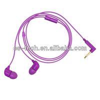 2014 new colorful tangle free earphone thumbnail image