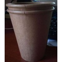 Craft disposable paper cup for coffee 8-24oz