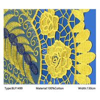 african tulle lace cotton embroidered fabric