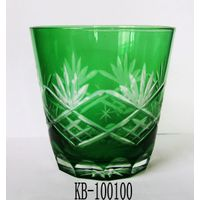 GREEN  Color Drinking Cup