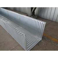 Agriculture irrigation culvert pipecorrugated steel pipeAssembled corrugated steel pipe thumbnail image