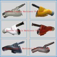 Concrete pump spare parts Putzmeister S tube, S valve