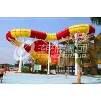 Fiberglass Tornado water slide for water theme park