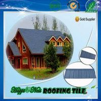 Aluminum-zinc plate stone coated metal roof tiles
