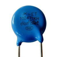 10D470V Metal Oxide Varistor for circuit surge protection, MOV varistor