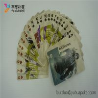 4 Color Custom Printed Playing Cards for Magicians CE / EN71 / REACH Certificated