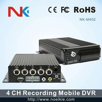 4 channel H.264 mobile DVR car black box