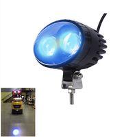 10W LED Blue Safety Spot Light