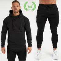 men's sports hoodie sweater outdoor sports basketball Casual Hoodie Two-piece factory direct sales thumbnail image