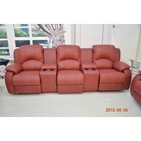 Genuine leaher sofa sets