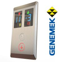 AV2082 elevator lop, duplex indicator and push button