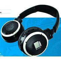 educational wireless headphone/language teaching wireless headphone  with fm radio,LCD display