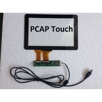 PCAP Capacitive Touch screen 10 Points Touch Panel for Kiosk Gaming Machine