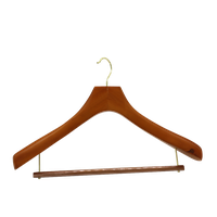 Hight quantity and cheap price wooden clothes hanger for Japan Tokyo supermarket thumbnail image