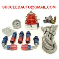 Fuel Pressure Regulator,Fuel Regulator kits,aluminum fitting,Performance Racing Auto Parts thumbnail image
