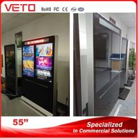 """55""""Double Screen Indoor LCD Display for Advertising Display thumbnail image"""