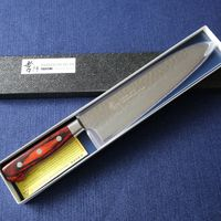 Japanese Chefs VG10 Damascus Kitchen Knife #07395 thumbnail image