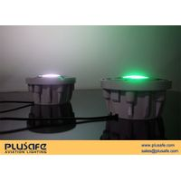 IP68 Waterproof Surface Heliport Light System Powder Coating Finish