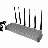 6 Antenna High Power 3G Cell phone & 315MHz 433MHz Jammer