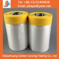 Rice Paper Taped Masking Film Tape