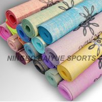 Anti Slip Jute Yoga Mat