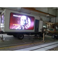 HD P10 Outdoor truck mobile/mounted led display screen led truck trailer billboard