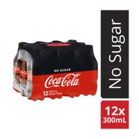 Bottled Cold Cool Soft Drinking Coca Cola 330ml thumbnail image