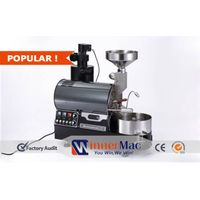 Small capacity coffee bean roasting machine, Gas heating commercial coffee roaster