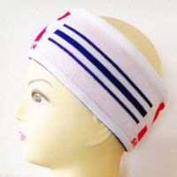 Unisex Cotton Headband Knitted Sports Custom Sweatband Yoga Headband thumbnail image