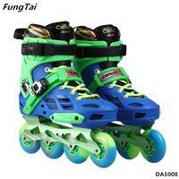 Street Slalon Inline Skate Shoes 4 Wheels for Men Women (DA1008)