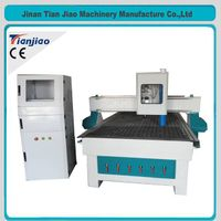 TJ1325 cnc woodworking router with dust cover
