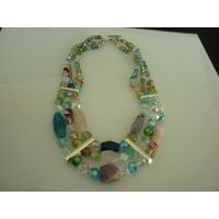 arrival/manual necklace/bead necklace/agate necklace/crystal necklace