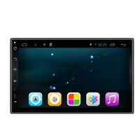 Android 6.0 universal car dvd gps for 7in full touch screen