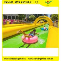 Summer Popular the City Water Slide Inflatable Slip N Slide