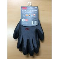 3M Comfort Grip Work Gloves, Nitrile Coated, Winter