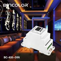 DIN Rail DMX512 Constant Voltage Decoder BC-835-DIN