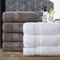 Cotton satin bath towel bigger and thickening