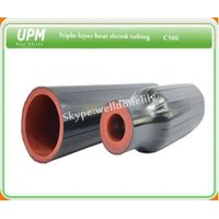 C106 Semi-Conductive/Insulation/Elastomeric Insulation Tri-Layer Heat Shrink Tube