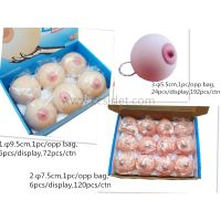 TPR Sexy toys squeeze Breast toys