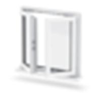 New Design PVC Casement Window