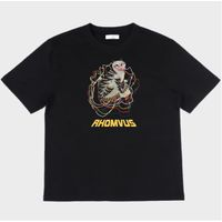 KOREAN FOLKART TIGER T-SHIRTS over fit with Unique design and comfortable wear thumbnail image