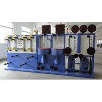 Vertical high-speed double layers wire wrapping machine thumbnail image