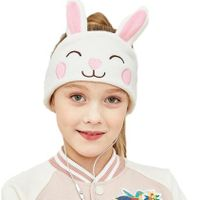 Kids Headphones Soft Fleece Headband - Perfect Children's Earphones for School, Home and Travel