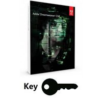 Adobe Dreamweaver CS6 Key