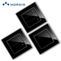 K3.1 Professional wholesaler supplier new design electrical BS standard black acrylic light switch