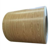 Wooden Surface Prepainted Steel Coil PPGI for Building Material