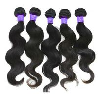body wave 4pcs/bundle brazilian virgin hair weave hair weaving hair weft