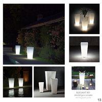 Indoor/Outdoor LED lighting Pots