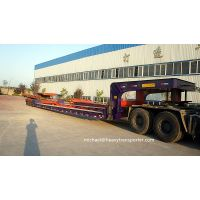 lowbed trailer,low boy, low loader,container trailer--CHINA HEAVY TRANSPORTER